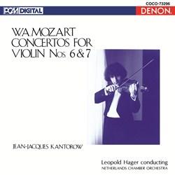 <Blu-spec> デンオン・クラシック・ベストMore50-21 モーツァルト:ヴァイオリン協奏曲第6番/第7番