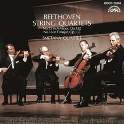 <Blu-spec> デンオン・クラシック・ベストMore50-29 ベートーヴェン:弦楽四重奏曲第15番/第16番