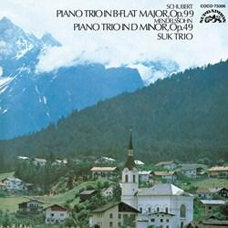 <Blu-spec> デンオン・クラシック・ベストMore50-31 シューベルト/メンデルスゾーン:ピアノ三重奏曲第1番