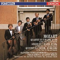 <Blu-spec> デンオン・クラシック・ベストMore50-33 モーツァルト:オーボエ四重奏曲/オーボエ五重奏曲/アダージョ