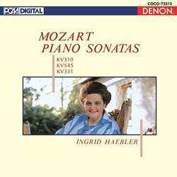 <Blu-spec> デンオン・クラシック・ベストMore50-38 モーツァルト:ピアノ・ソナタ選集 [K.310/545/331]