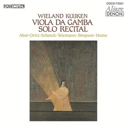<Blu-spec> デンオン・クラシック・ベストMore50-45 無伴奏ヴィオラ・ダ・ガンバ・リサイタル
