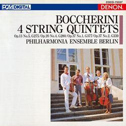 ボッケリーニ:弦楽五重奏曲集(G.275/280/377/339)