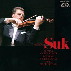 フランク/プーランク:ヴァイオリン・ソナタ/フォーレ:子守歌