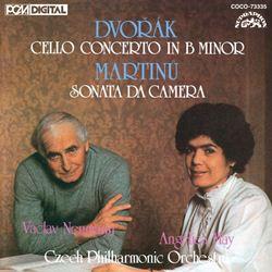 ドヴォルザーク:チェロ協奏曲/マルチヌー:チェロと管弦楽のためのソナタ・ダ・カメラ