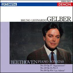 ベートーヴェン:ピアノ・ソナタ集[3]第23番《熱情》/第18番/第26番《告別》