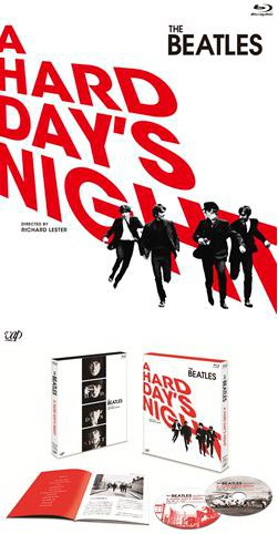 『A HARD DAY'S NIGHT』Blu-ray 【初回限定版】