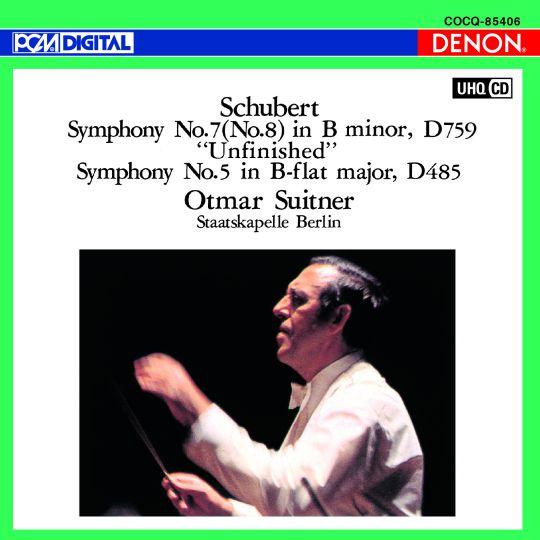 UHQCD DENON Classics BEST シューベルト:交響曲第8番《未完成》&第5番