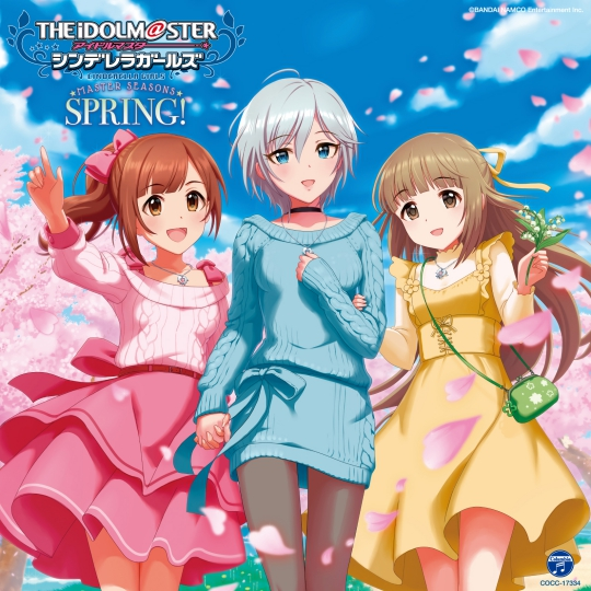THE IDOLM@STER CINDERELLA GIRLS MASTER SEASONS SPRING!