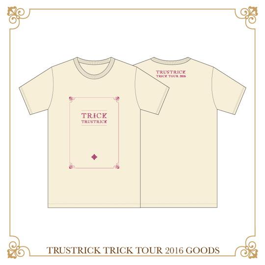 TRICK TOUR Tシャツ(ナチュラル)(S)