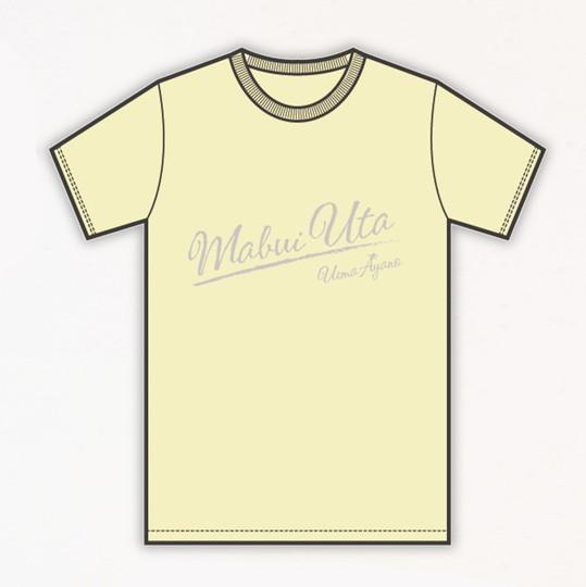 「ツアー2016魂うた」Tシャツ  シャーベットイエローLサイズ