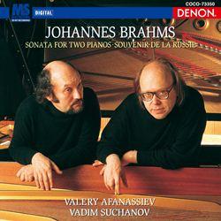 ブラームス:2台のピアノのためのソナタ/ロシアの思い出