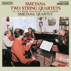 UHQCDDENONClassicsBESTスメタナ:弦楽四重奏曲第1番《わが生涯より》、第2番