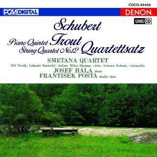 UHQCD DENON Classics BEST シューベルト:ピアノ五重奏曲《ます》、弦楽四重奏曲《四重奏断章》