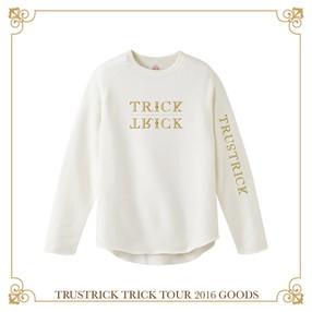 TRICK TOUR スウェット(ホワイト)(M)