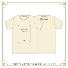 TRICK TOUR Tシャツ(ナチュラル)(XL)