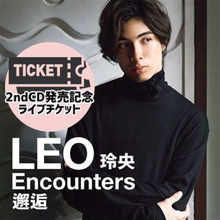 8/30 LEO  2ndCD発売記念ライブ@TOKYO FM HALL チケット