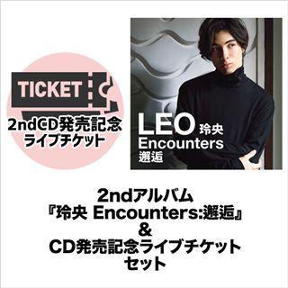 8/30 LEO 2ndCD発売記念ライブ@TOKYO FM HALL チケット&CDセット